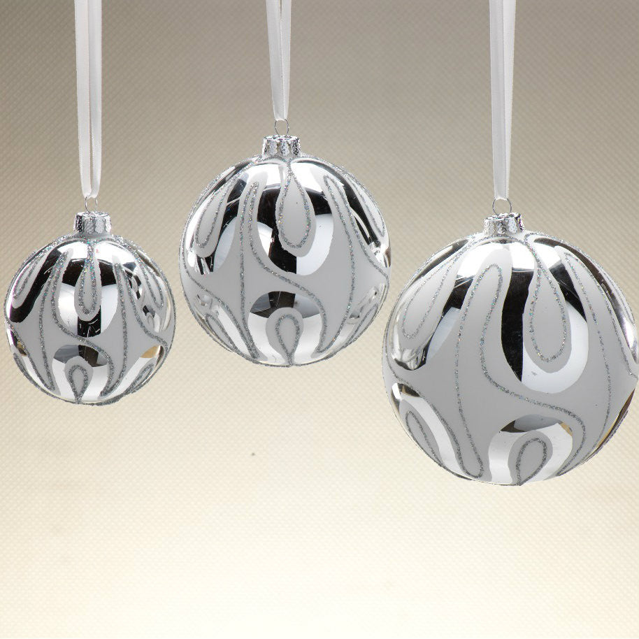 Free Flow Ornaments - Set of 12 -  - CARLYLE AVENUE