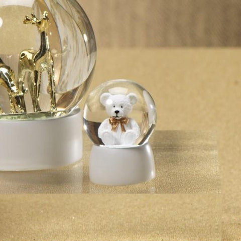 Teddy Bear Snow Globe