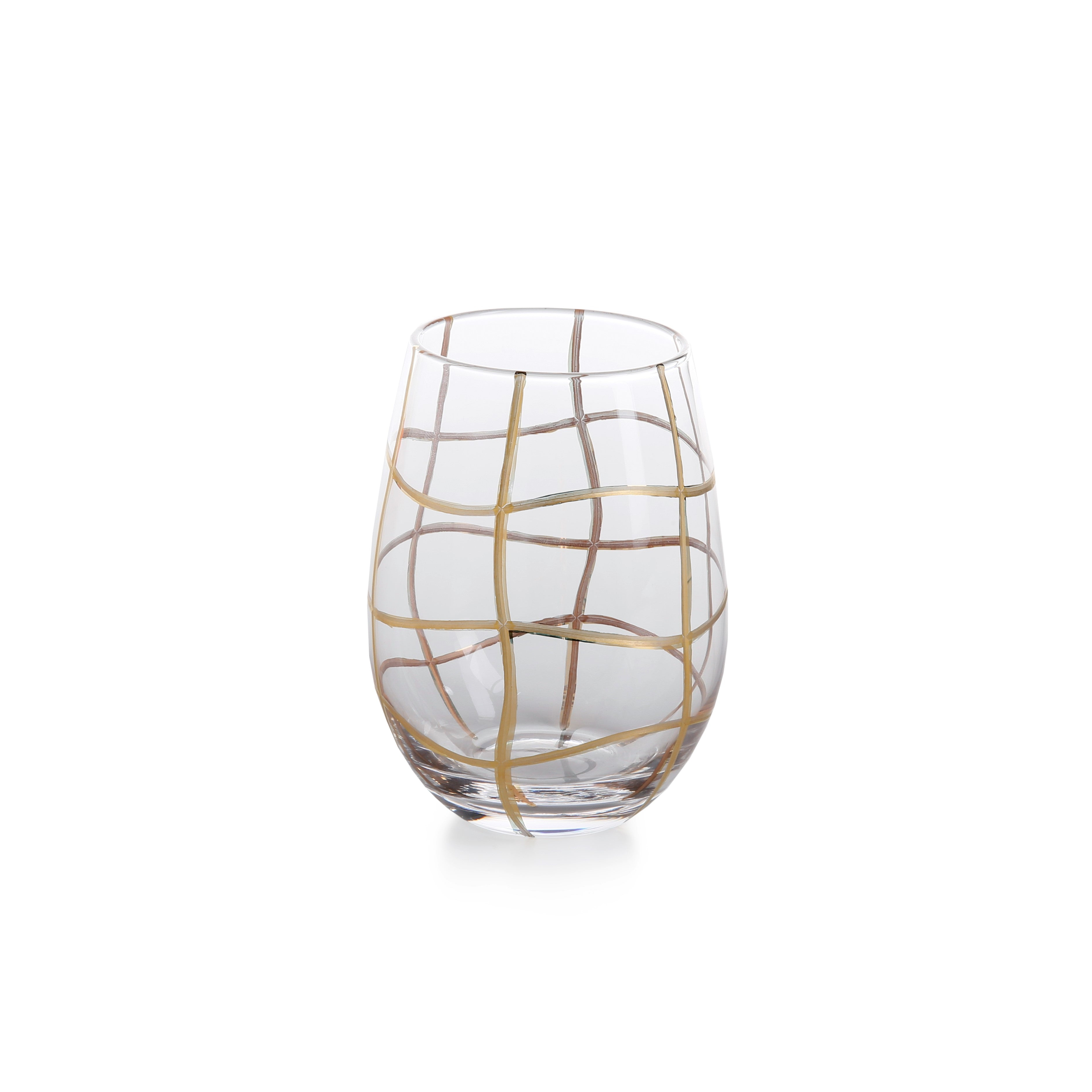 Groove Glasses & Drinkware - Set of 4 - CARLYLE AVENUE