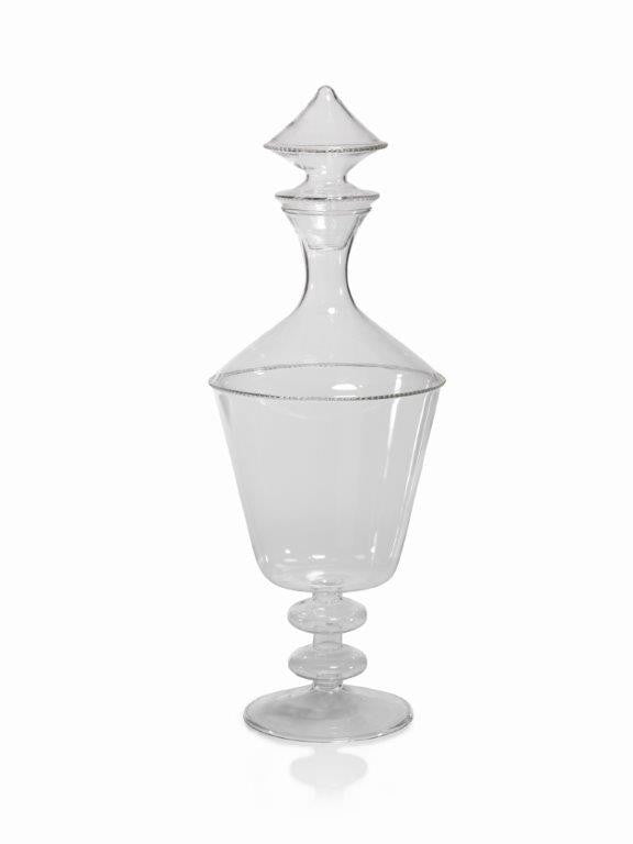 Bordeaux Glass Decanter w/ Stopper - CARLYLE AVENUE