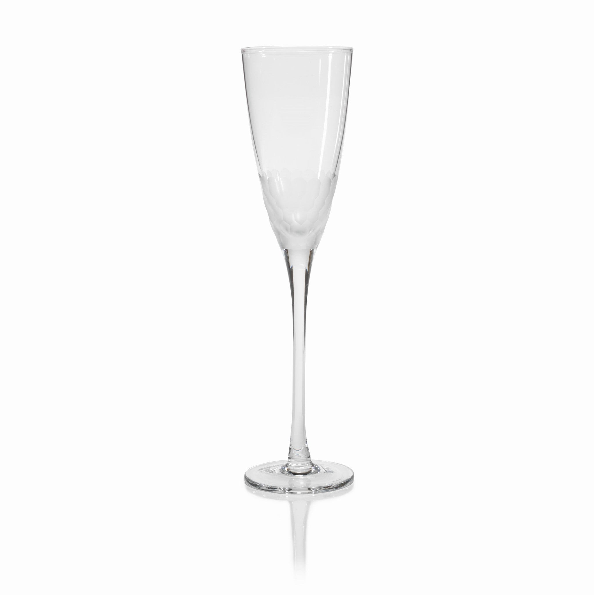 Fez Cut Frosted Stemware - CARLYLE AVENUE