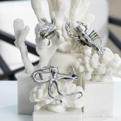 Decorative Silver Prawn