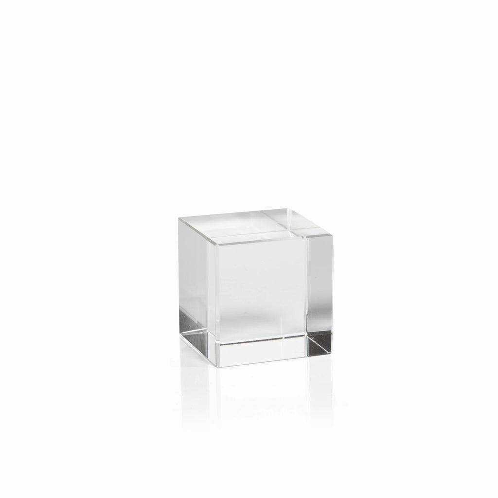 Crystal Glass Cube - Small - CARLYLE AVENUE - 3