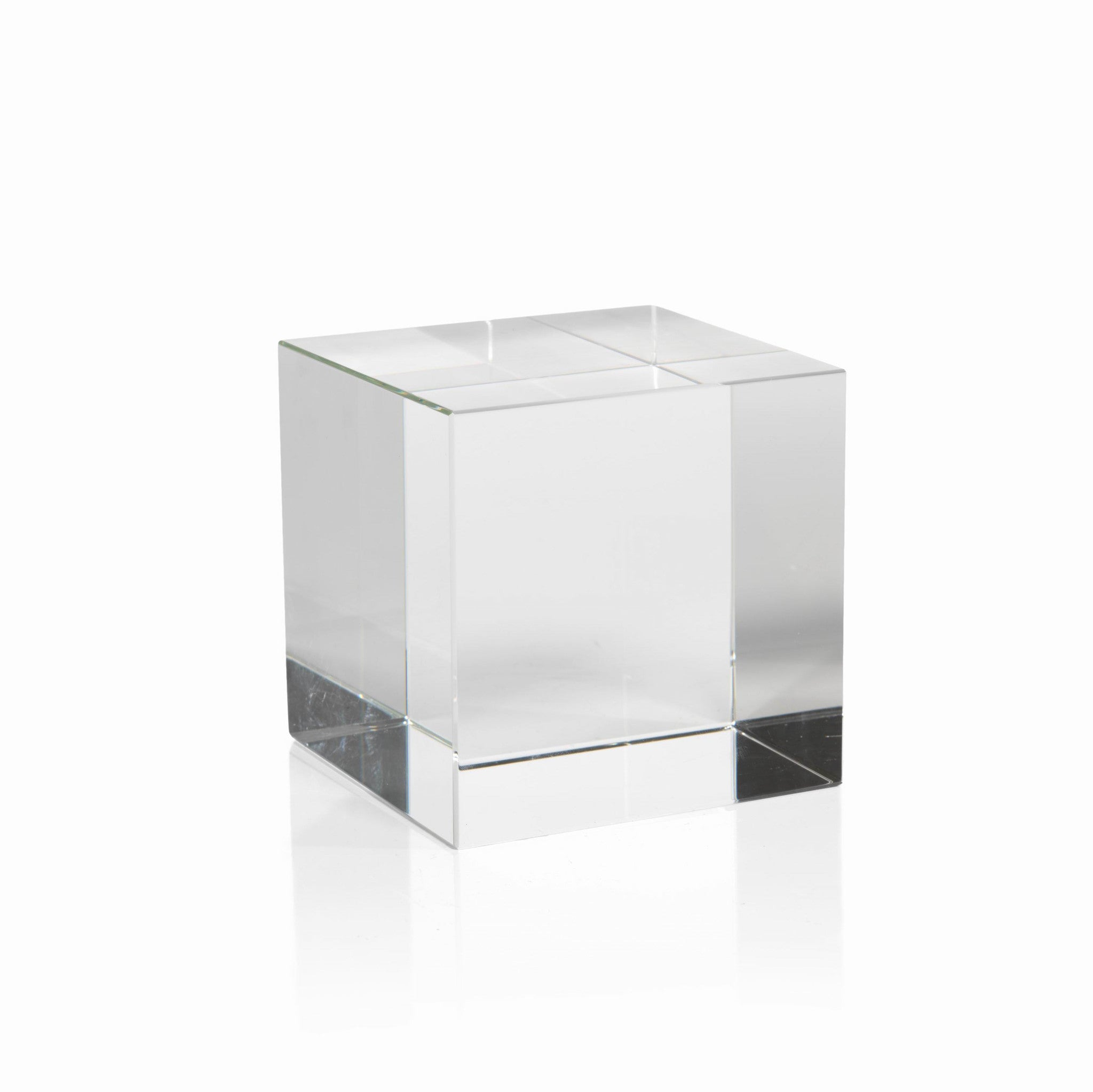 Crystal Glass Cube - CARLYLE AVENUE