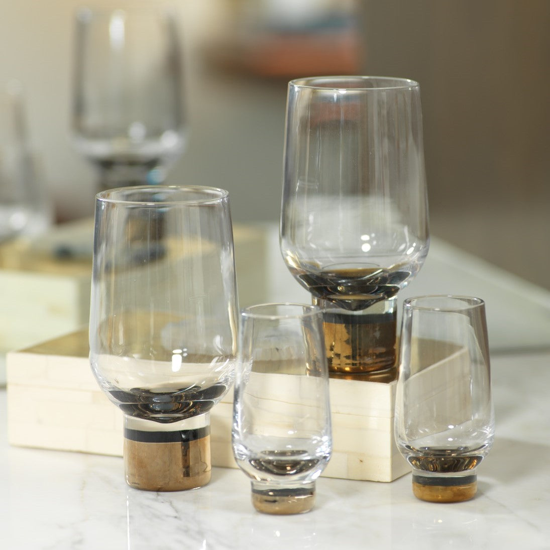 Florence Glasses Collection - Set of 4 - CARLYLE AVENUE