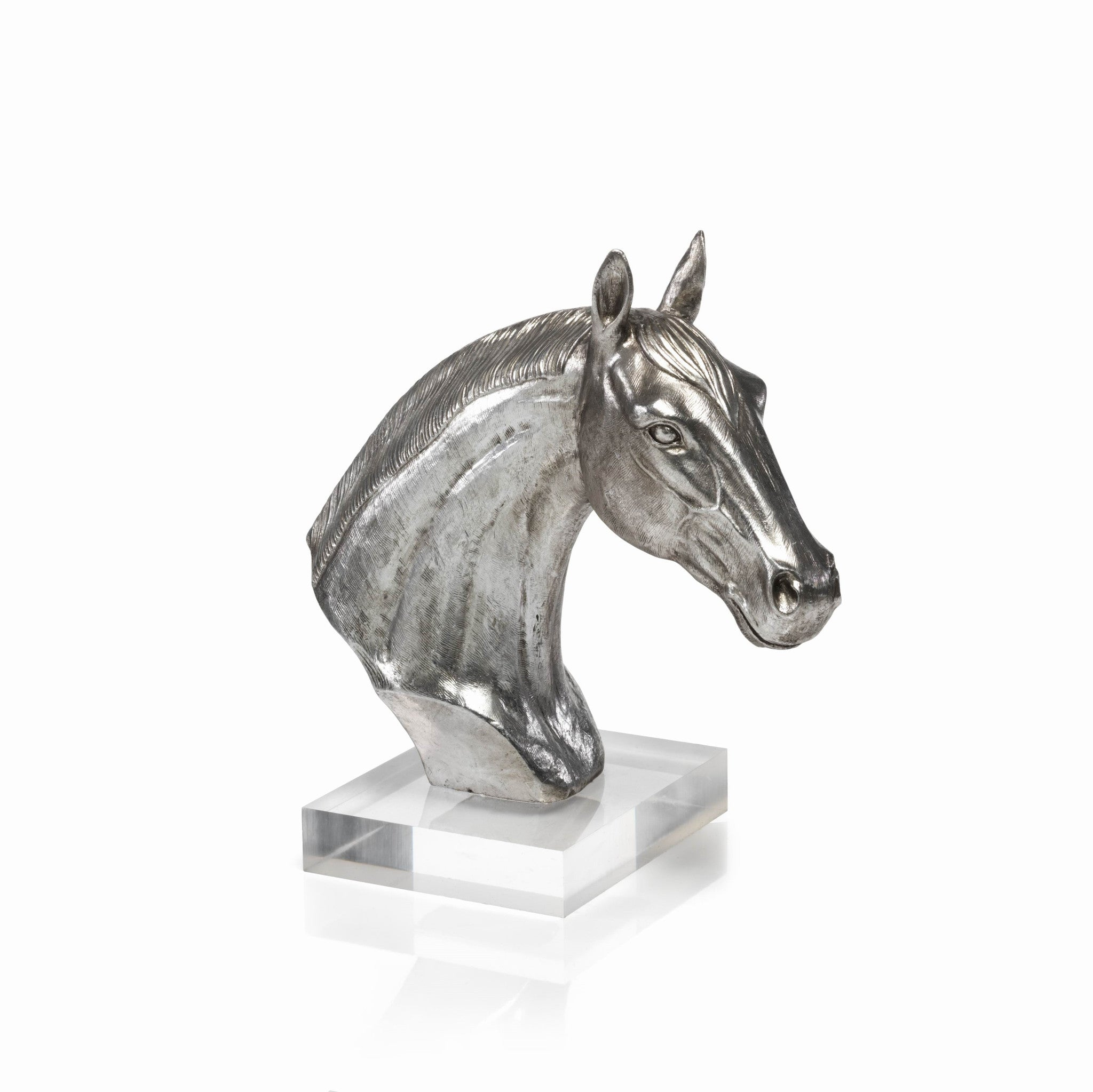 Horse Head on Acrylic Base - CARLYLE AVENUE