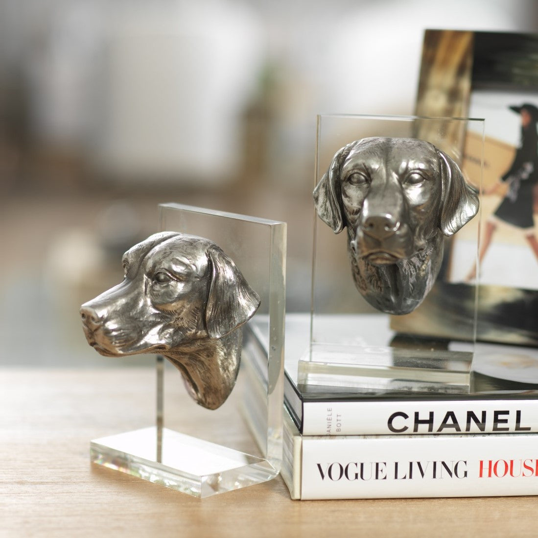 Dog Bookends - CARLYLE AVENUE