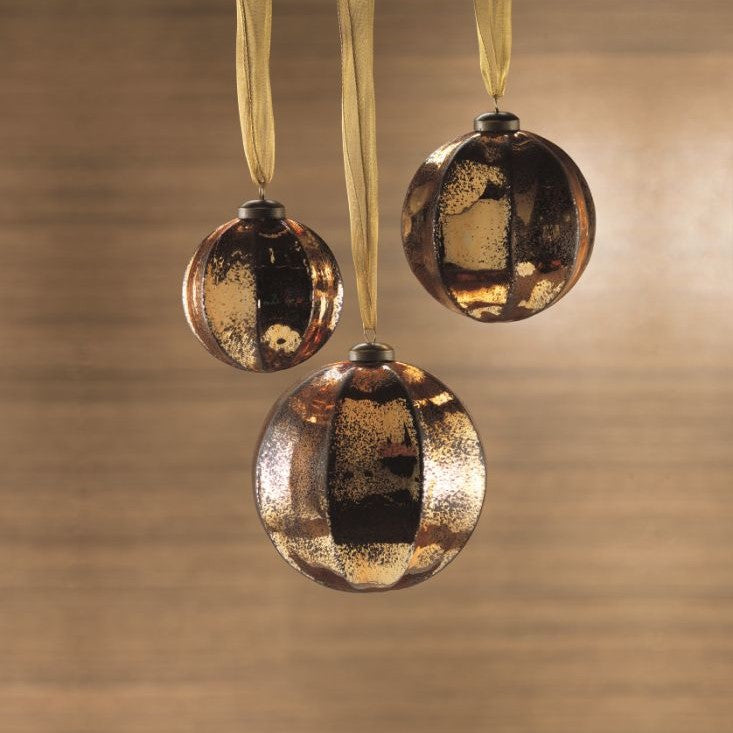 Gold Ball Ornament - CARLYLE AVENUE