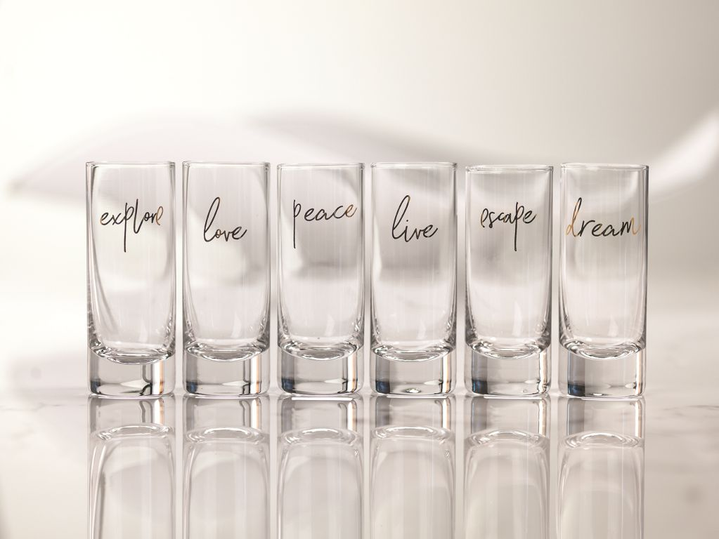 Dream Shot Glass - Set of 6 - CARLYLE AVENUE