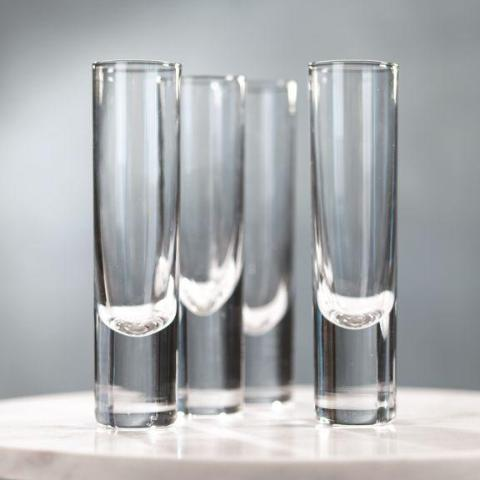 Cilento Heavy Sham Champagne Flutes - Set of 6 - CARLYLE AVENUE