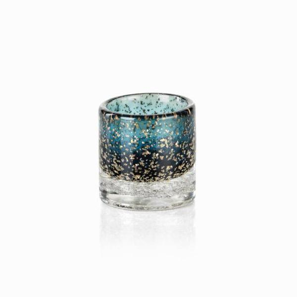 Lagoon Glass Tealight Holder - Set of 6 - CARLYLE AVENUE