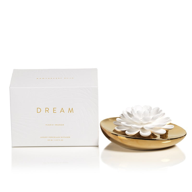 Dream Porcelain Flower Diffuser - CARLYLE AVENUE