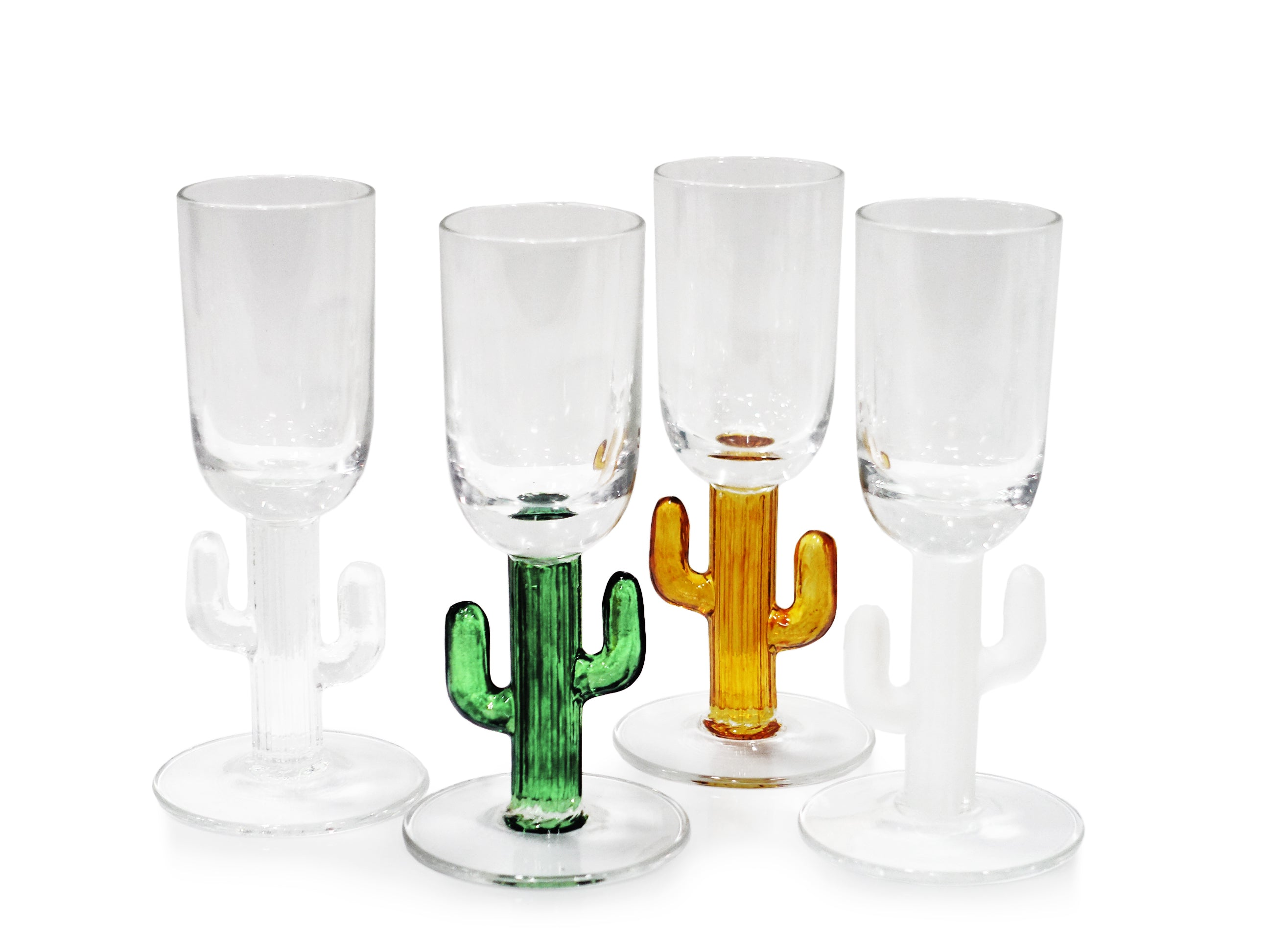 Cabo Cactus Shot Glass - Set of 4 - CARLYLE AVENUE