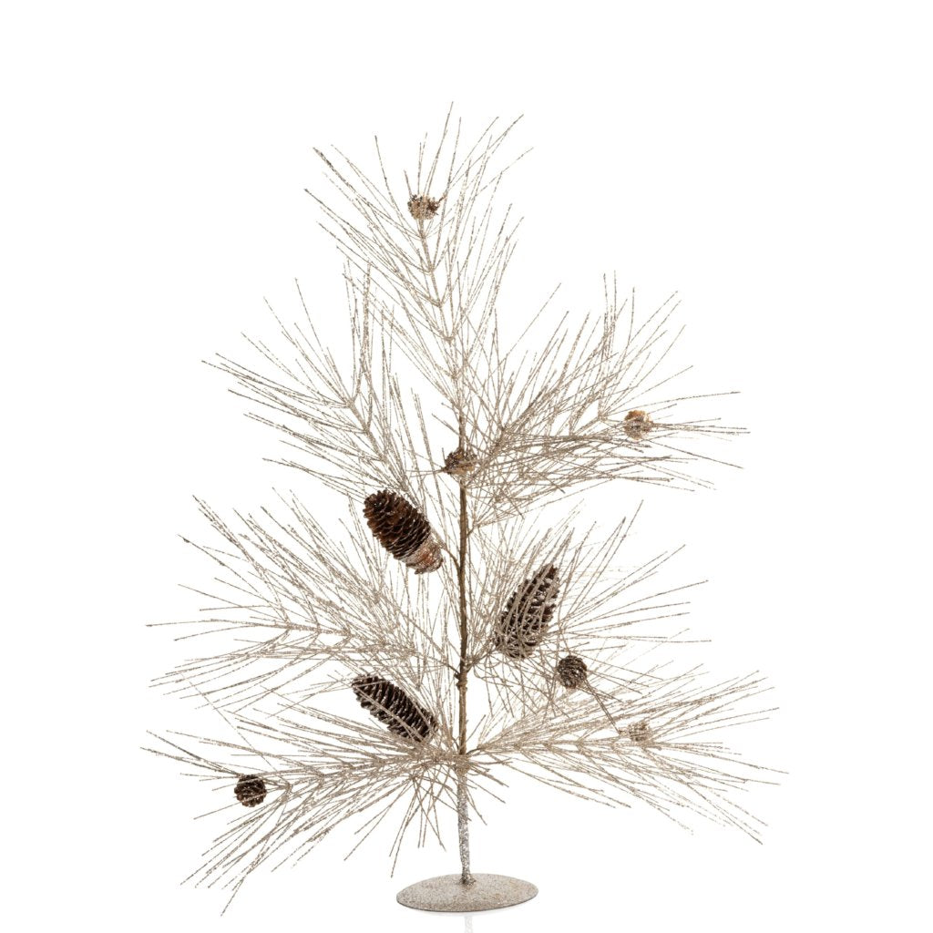 Spruce and Pinecone Tree - Set of 2