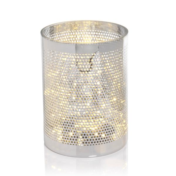 Silver Dot Design LED Hurricane