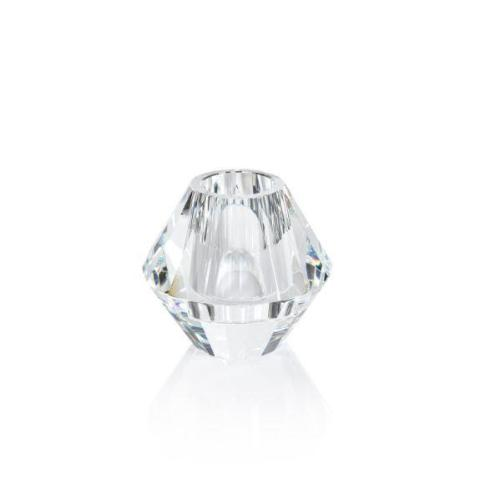 Rialto Crystal Diamond Vase - CARLYLE AVENUE