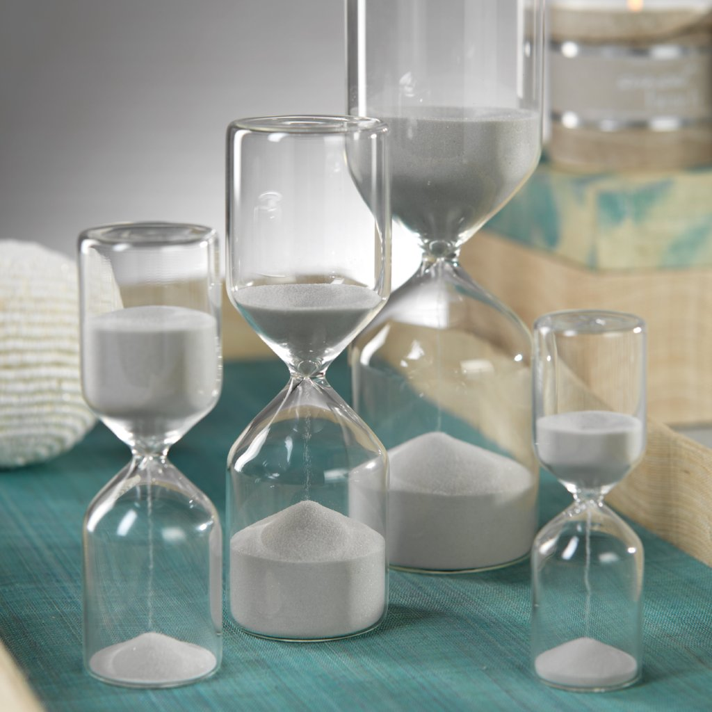Chartres Hourglass with Light Sand