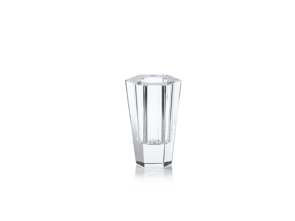 Rita Clear Crystal Vase - CARLYLE AVENUE