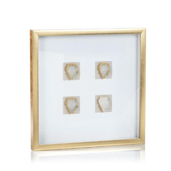 Gold Framed Crystals
