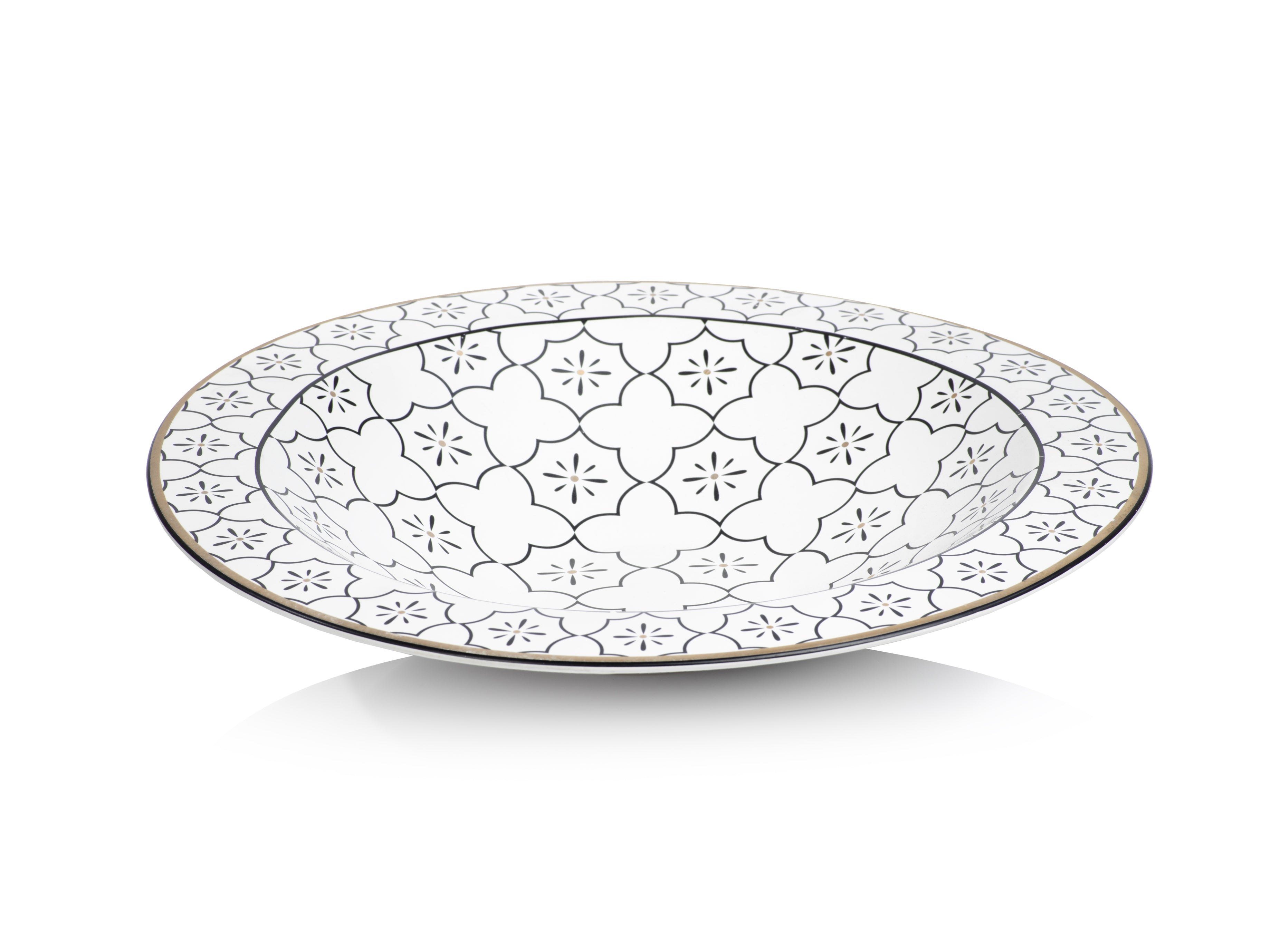 Nadia Ceramic Centerpiece Bowl