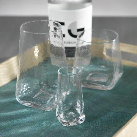 Kallos Hammered Drinkware - CARLYLE AVENUE