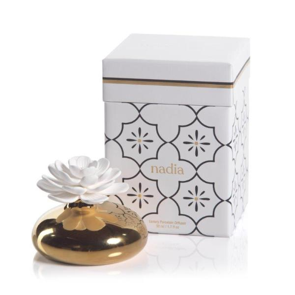 Nadia Porcelain Flower Diffuser - CARLYLE AVENUE