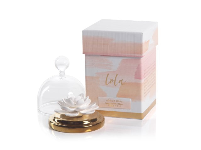 Lola Porcelain Flower Diffuser - CARLYLE AVENUE