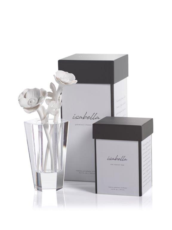 Isabella Porcelain Diffuser Gift Set - CARLYLE AVENUE