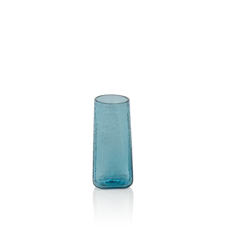 Kallos Hammered Drinkware - Blue