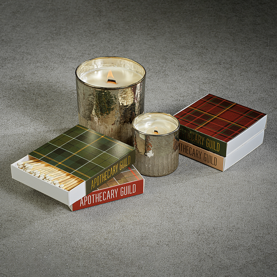 Matches - Plaid Assortment - Set of 4