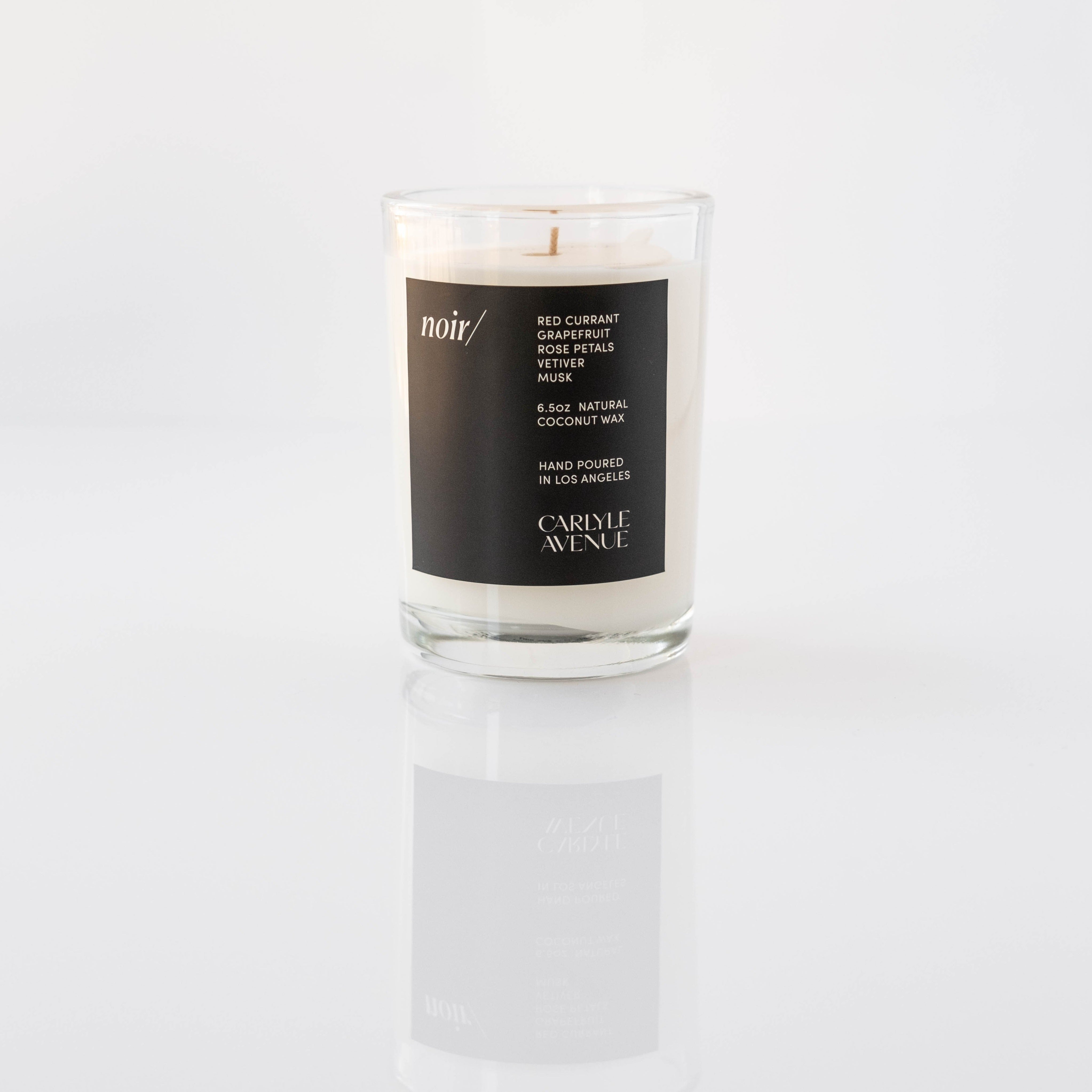 Carlyle Avenue Scented Candle - Noir