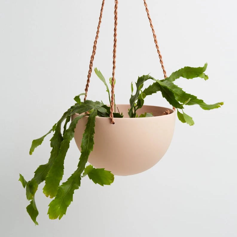 Large Dome Hanging Pot - Salt - CARLYLE AVENUE