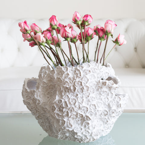 Decorative Coral Vase