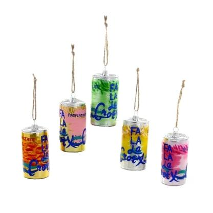 Fa La La Croix Ornaments - 5 Assorted - CARLYLE AVENUE