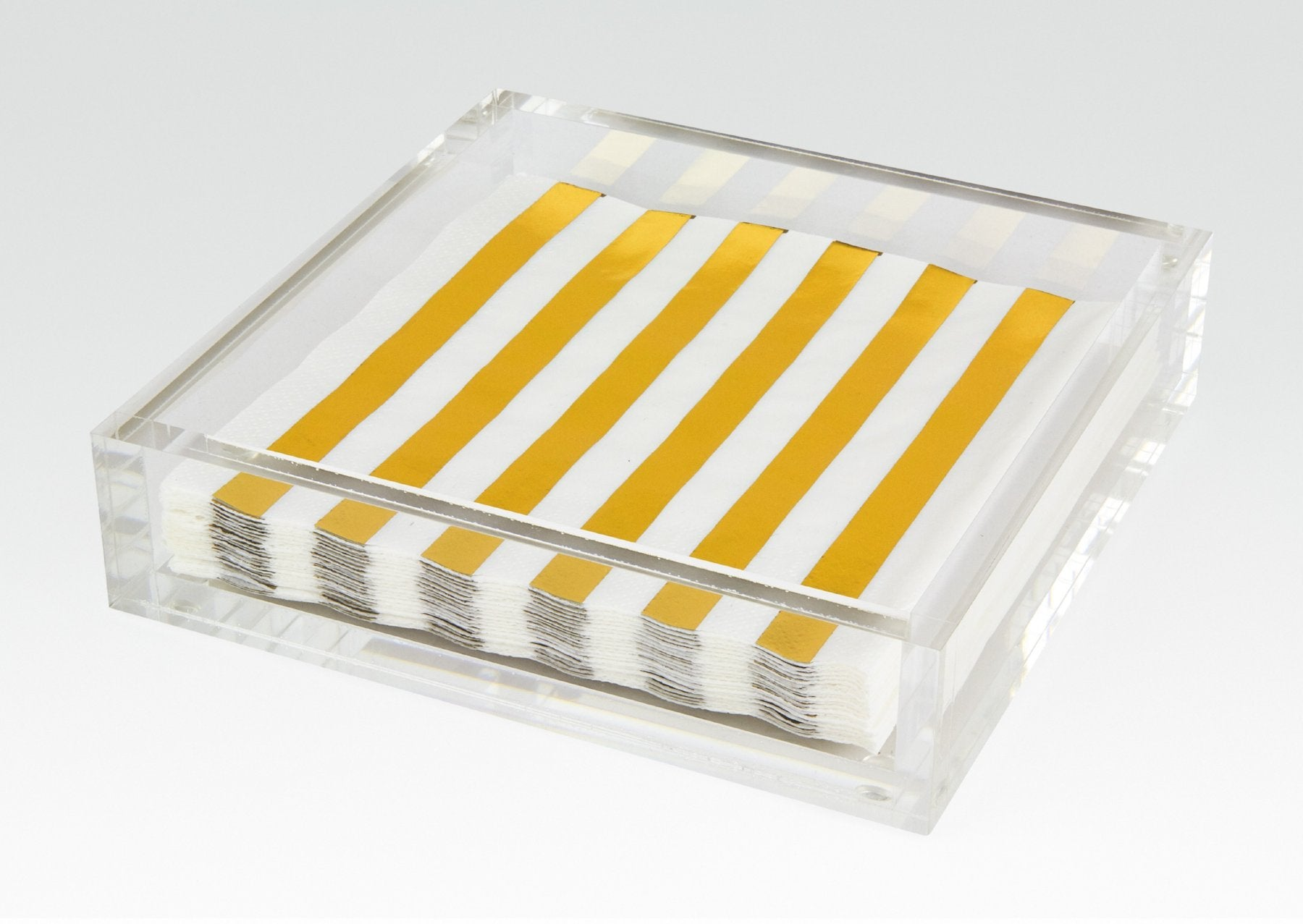 Lucite Luncheon Napkin Tray