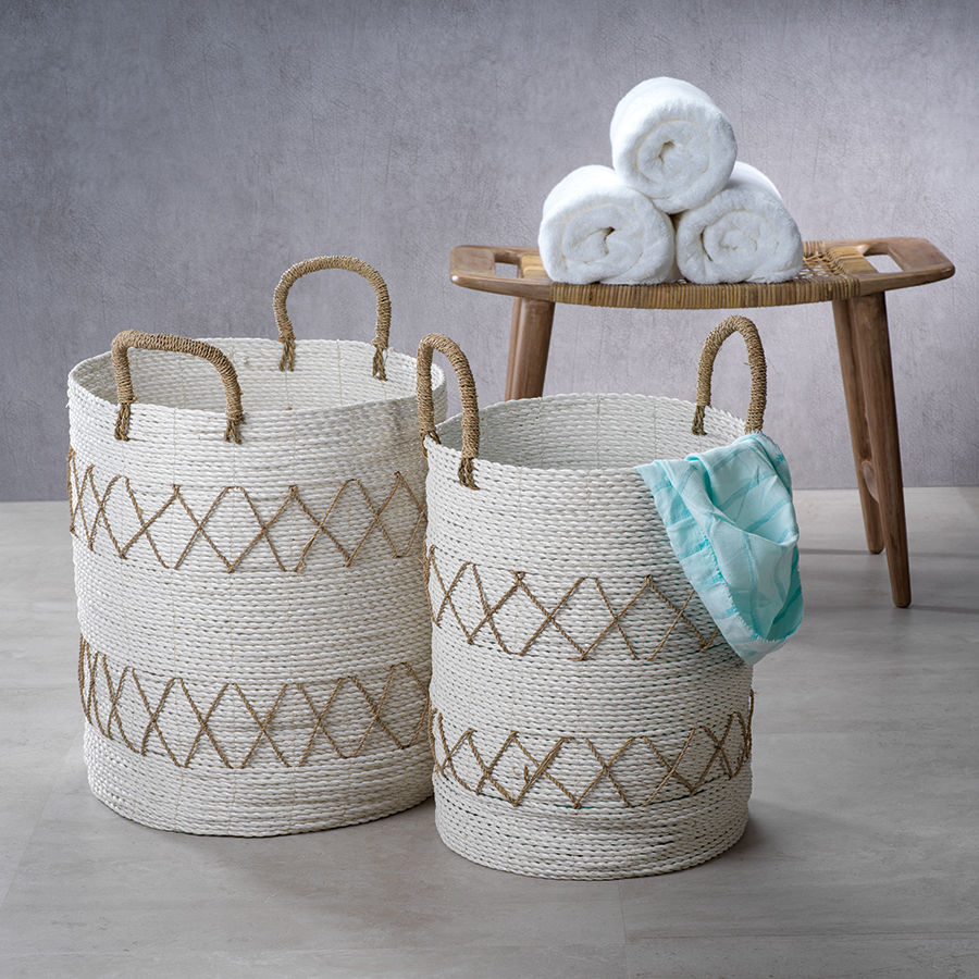 Salento Agel Baskets - Set of 2 Assorted