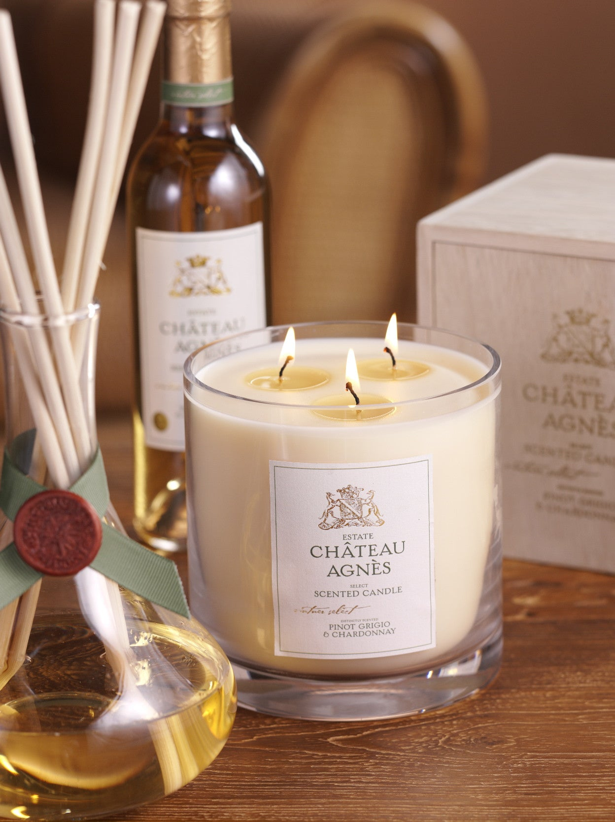 Chateau Agnes Scented Candles - CARLYLE AVENUE