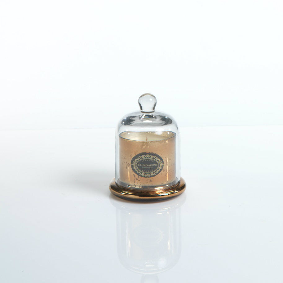 Illuminazione Candle with Glass Dome - Gold - Small - CARLYLE AVENUE - 2