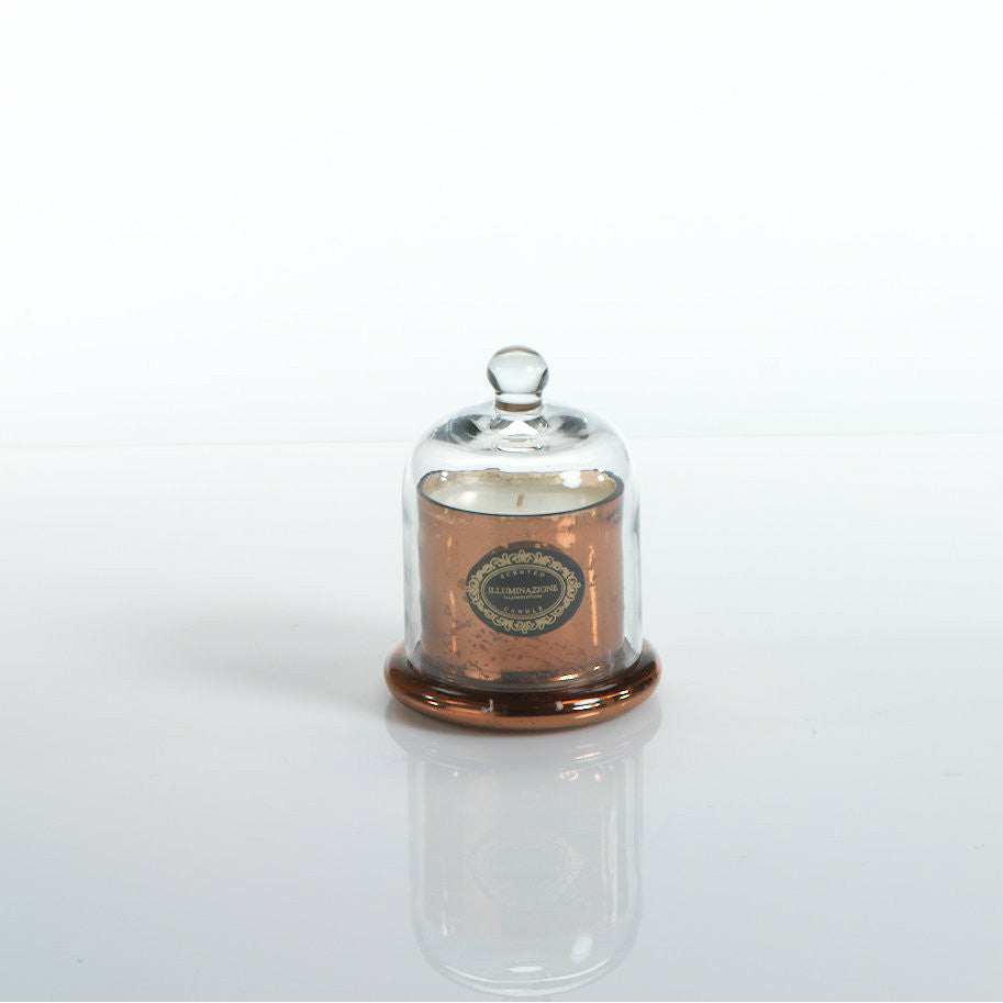 Illuminazione Candle with Glass Dome - Copper - Small - CARLYLE AVENUE - 2