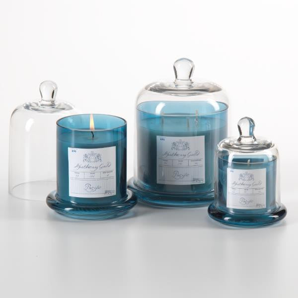 Apothecary Guild Domed Candle - Pacific Blue - CARLYLE AVENUE