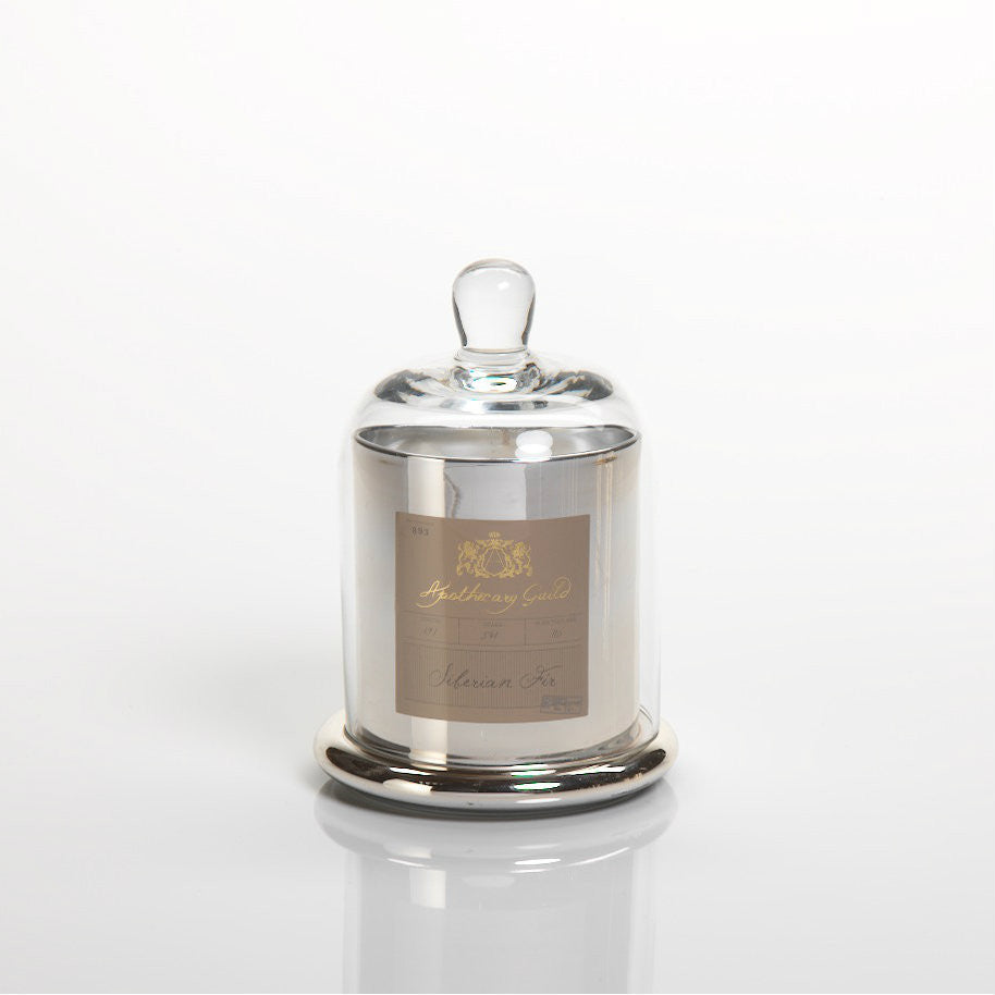 Apothecary Guild Domed Candle - Siberian Fir - CARLYLE AVENUE