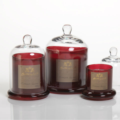 Apothecary Guild Domed Candle - Crimson Leaves