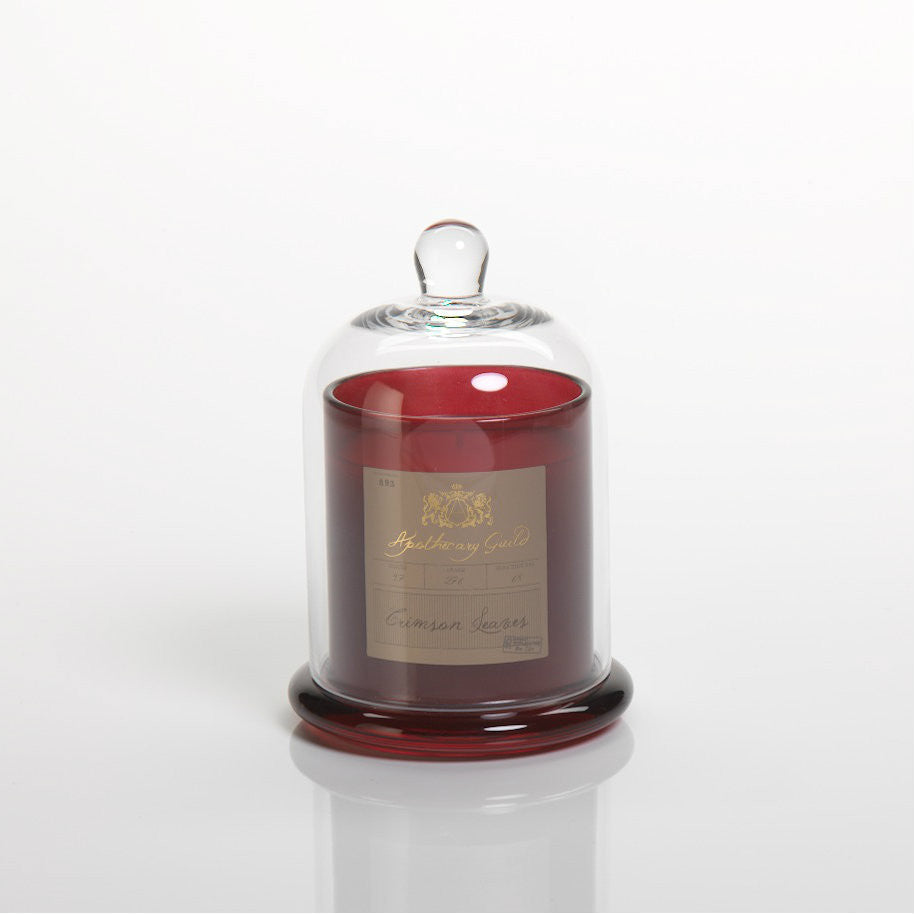 Apothecary Guild Domed Candle - Crimson Leaves - CARLYLE AVENUE