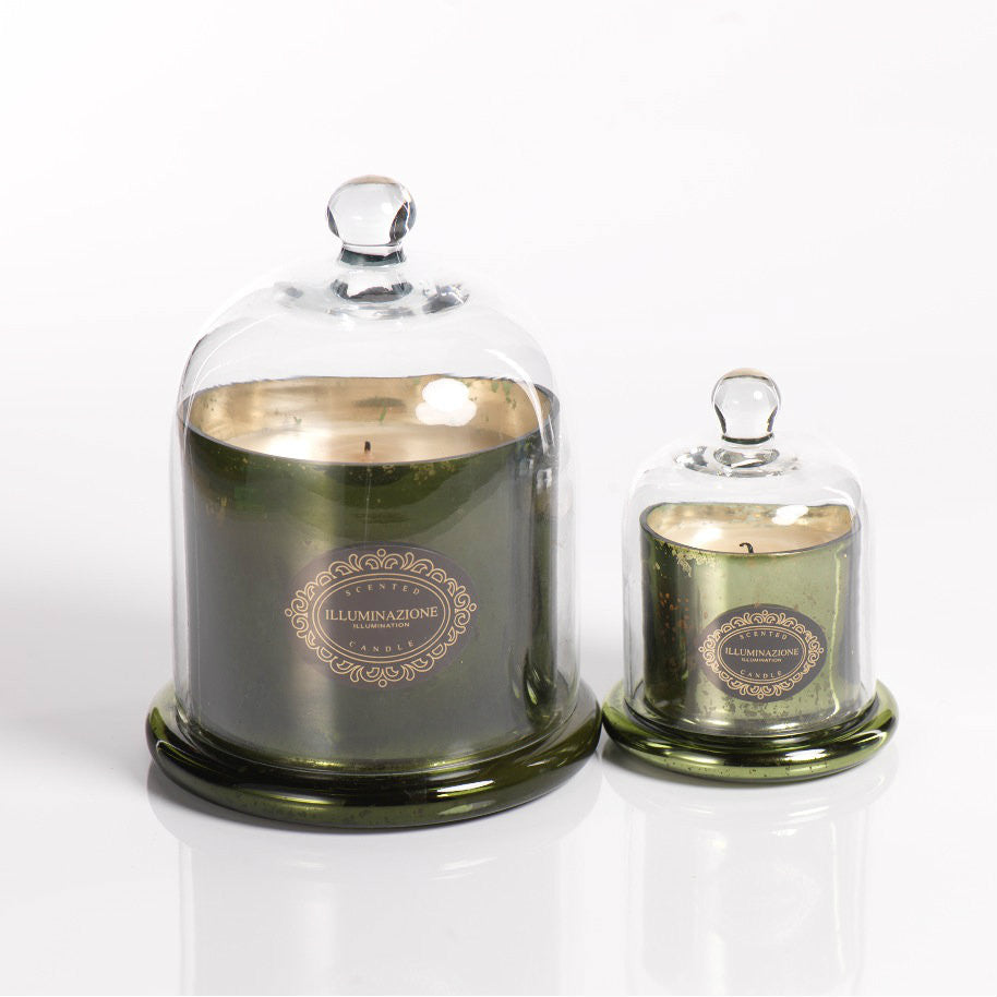 Illuminazione Candle with Dome - Olive Green -  - CARLYLE AVENUE - 1