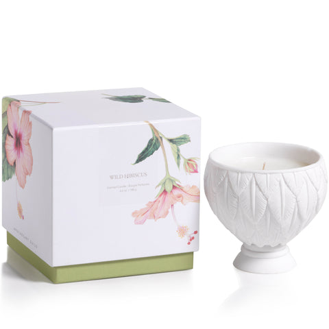 Apothecary Guild Sandstone Scented Candle - Wild Hibiscus