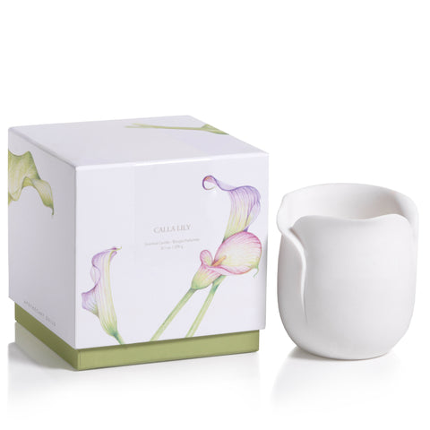 Apothecary Guild Sandstone Scented Candle - Calla Lily