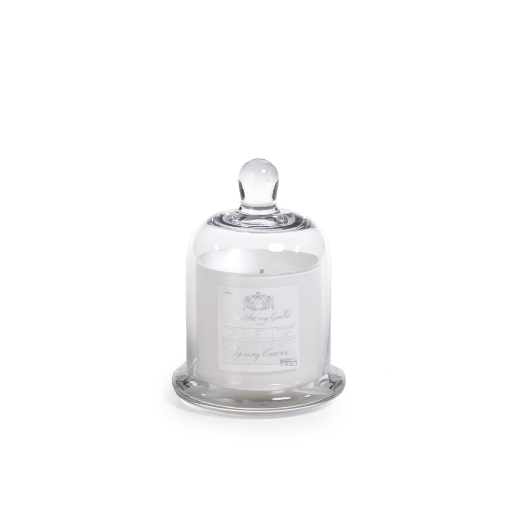 Apothecary Guild Domed Candle - Spring Crocus - CARLYLE AVENUE