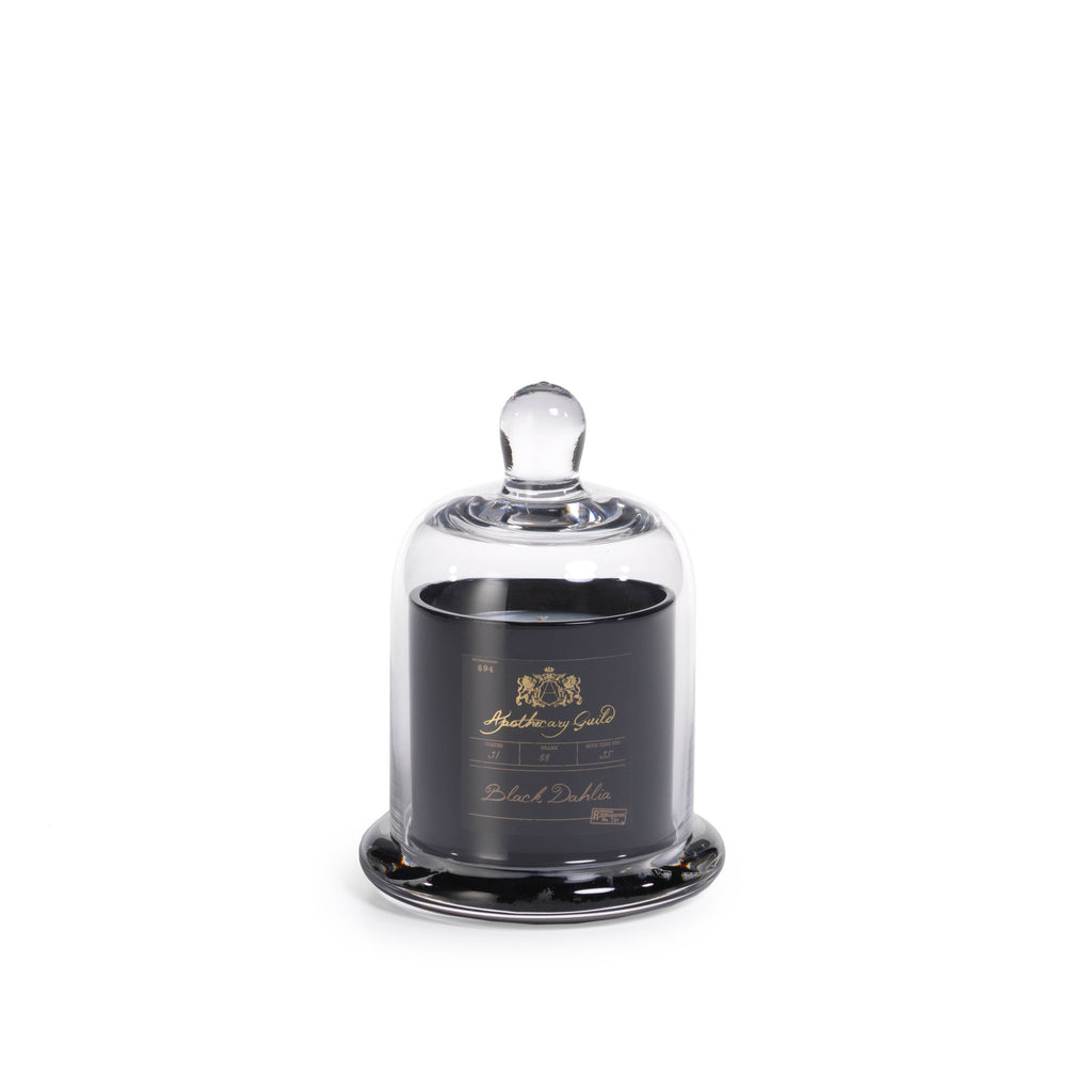 Apothecary Guild Domed Candle - Black Dahlia - CARLYLE AVENUE
