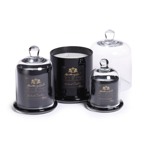 Apothecary Guild Domed Candle - Black Dahlia
