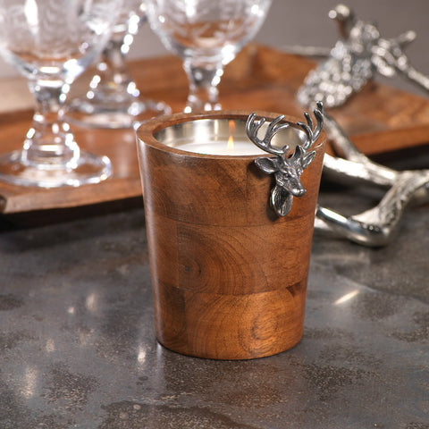 Bolton Stag Head Scented Candle